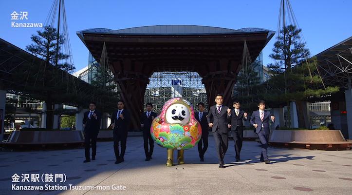 金沢の観光地を巡る