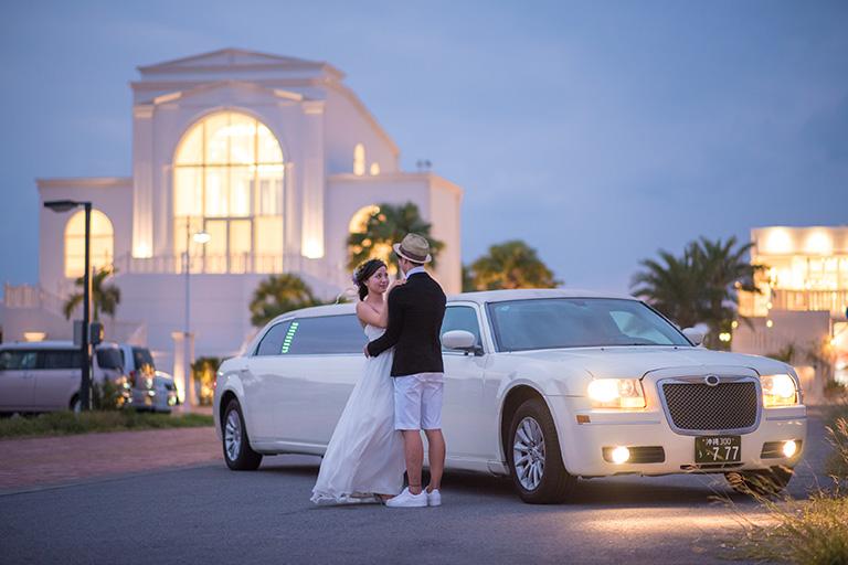 結婚式の入場・前撮り